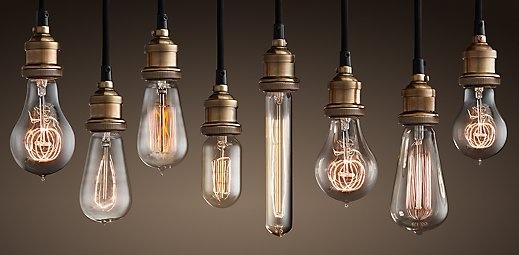 Lightbulbs   Restoration Hardware