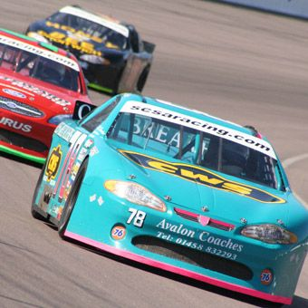 Stock Car Ride Along: experience real life racing thrills riding as a passenger in a 2-seat Sprint Cup Style Stock Car. #ChicagoExperiences #StockCar $119