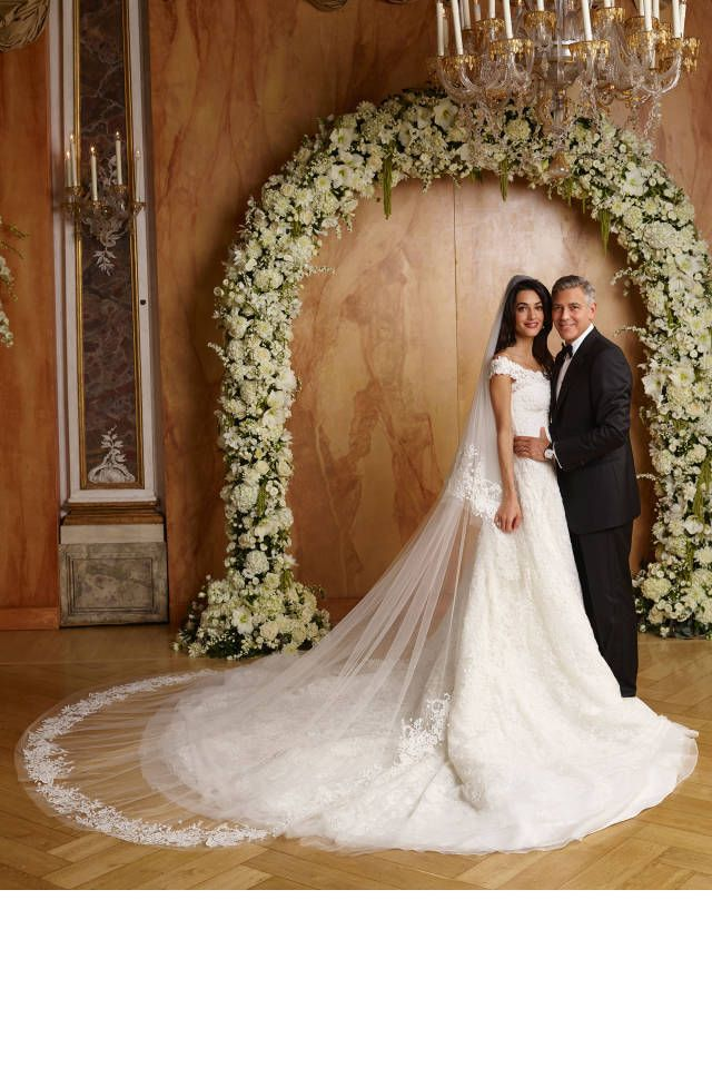 New Photos of George & Amal's Wedding Released