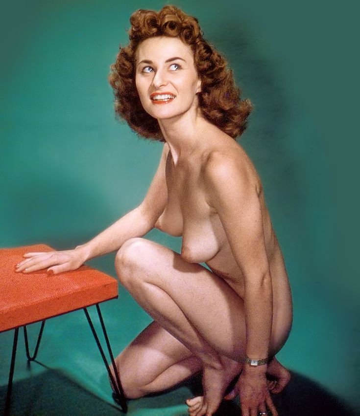 """hpcollection: """"  Donna Hunter, photo: George K. Mann """" Non-Playmate Photo Of Diane Hunter, Miss November 1954. Diane Hunter was born Gale Rita Morin in Tacoma, Washington on July 14, 1934. Her centerfold picture for Playboy was shot by Bruno Bernard,..."""