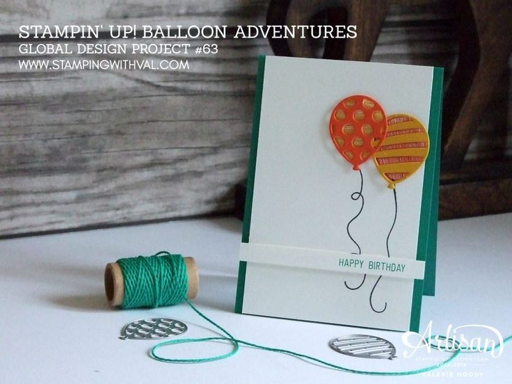 Stampin' Up! UK - Balloon Adventures - Shop Stampin' Up! Online HERE 24/7