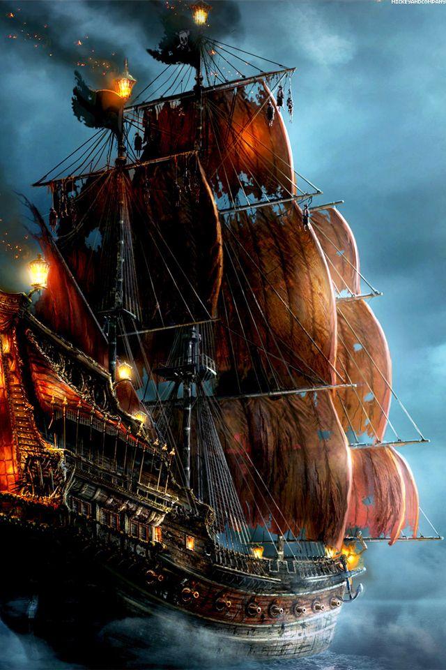 Piratas del Caribe Tu Barco la Perla Negra.