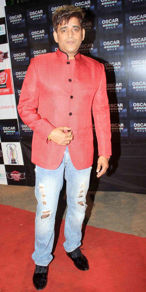 Ravi Kishan at Bhojpuri Film Awards 2014. #Bollywood #Fashion #Style #Handsome