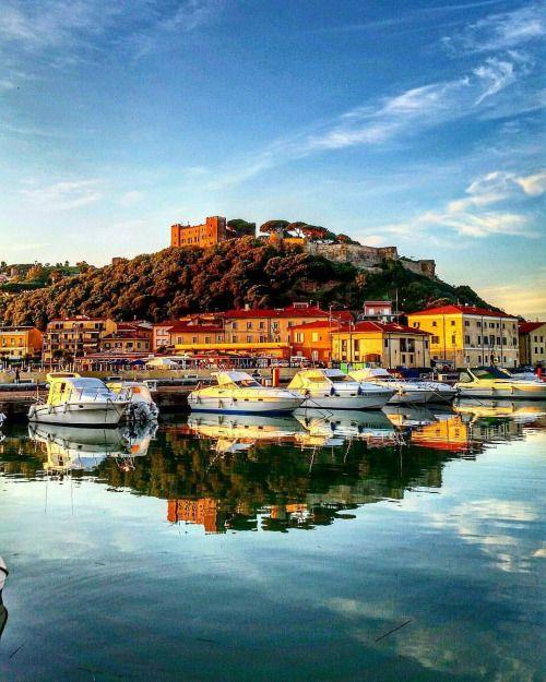 Toscana Castiglione della Pescaia - one of the most popular and glamour places on the coast #TuscanyAgriturismoGiratola