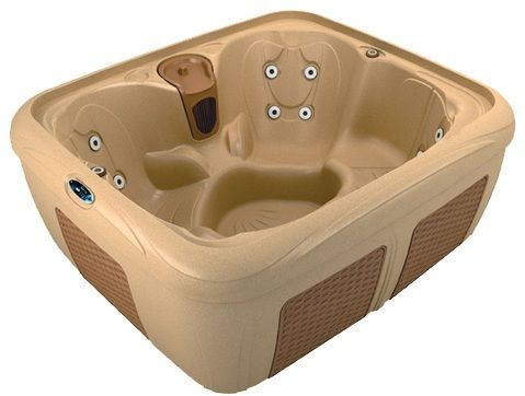 SPAS Online Canada -  Portable Plug in Style Hot Tubs Hard Sided and won't rip like a soft tub. Fits on the back of a pick up truck.   Dream Maker EZ Spa Hot Tub, $3,679.00 (http://www.spasonline.ca/dream-maker-ez-spa-hot-tub/)