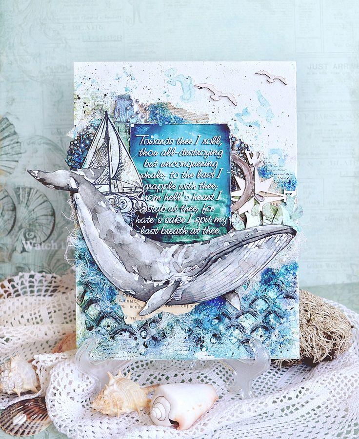 Поздравление днем, открытки в морском стиле маяк скрапбукинг