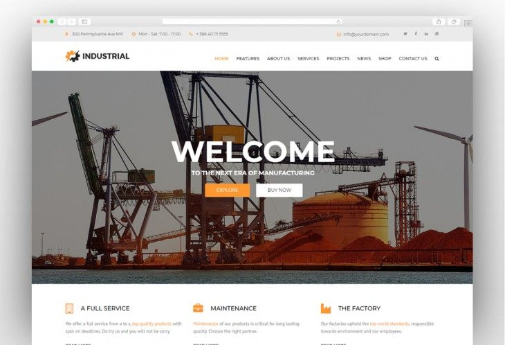 Industrial Factory Industry Manufacturing Wordpress Theme Industrial Wordpress Theme Manufacturing