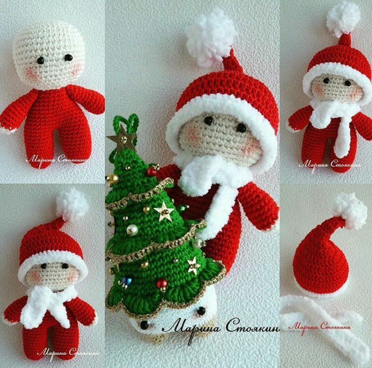 CROCHET - BIG HEAD DOLL - BABYDOLL YO-YO - CHRISTMAS