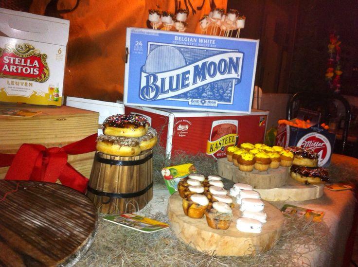 Beer birthday decor for an adult decoraci n de - Ideas para cumpleanos adulto ...