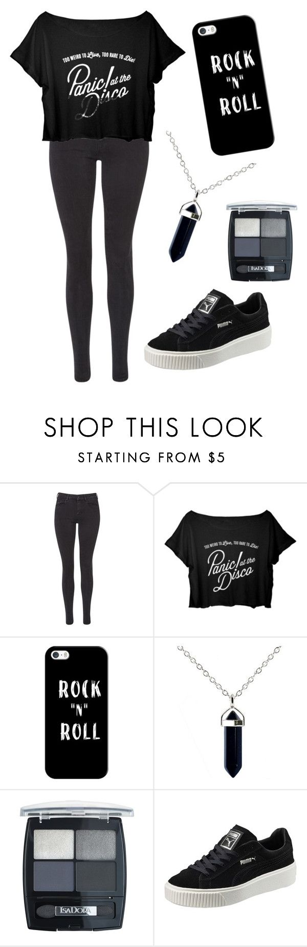 """Rock"" by electraz on Polyvore featuring Maison Scotch, Casetify, Isadora and Puma"