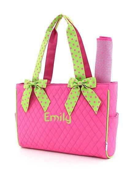 Diaper Bag Embroidery Ideas | Ausbeta.com