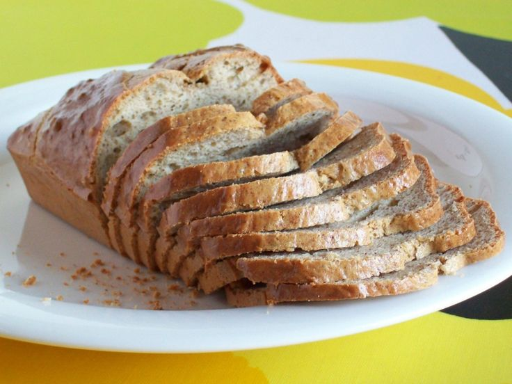 Simple and Fluffy Gluten-Free Low-Carb Bread-made with whey protein, baking soda and egg! Can't wait to try!