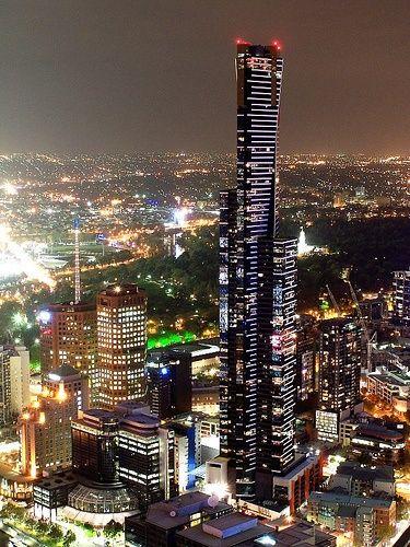 Melbourne at Night | PicsVisit