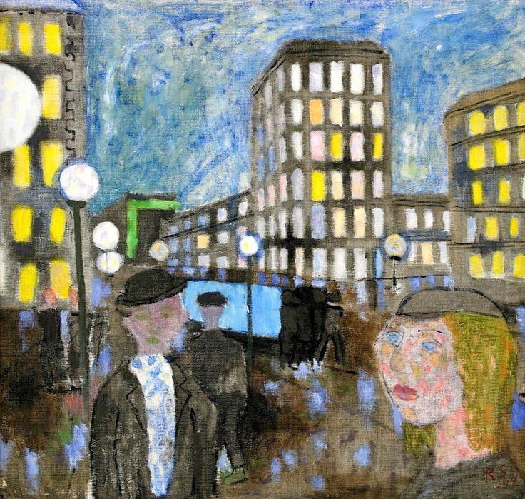 Ragnar Sandberg - A Walk in the City