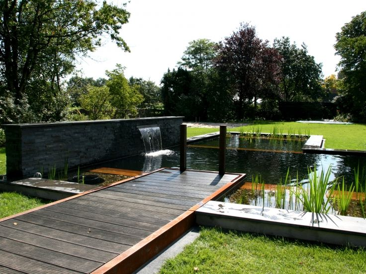 25 beste idee n over droom zwembaden op pinterest moderne zwembaden zwembaden en bar bij het - Klein natuurlijk zwembad ...