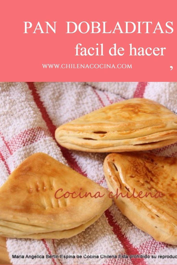 PAN DOBLADITAS Un pan rápido y fácil de hacer