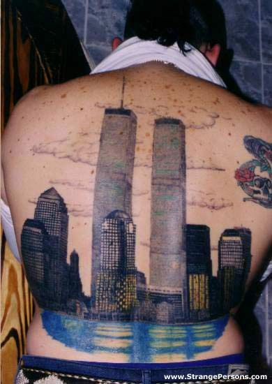 17 best twin towers evil tattoo drawing images on for Twin city tattoo