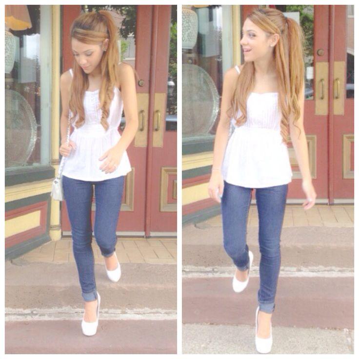 ariana grande inspired clothing | Nikiandgabibeauty ...
