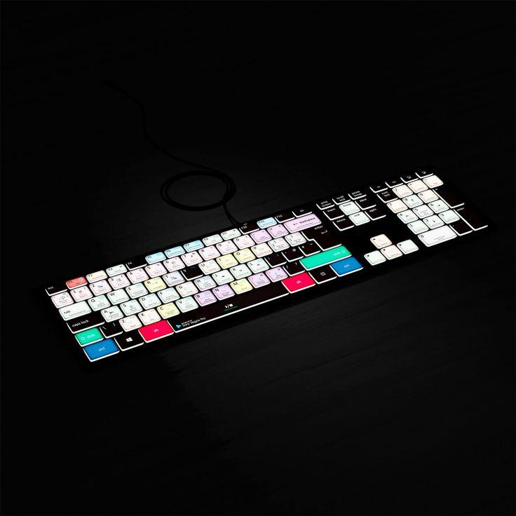 Sony Vegas Backlit Keyboard For PC