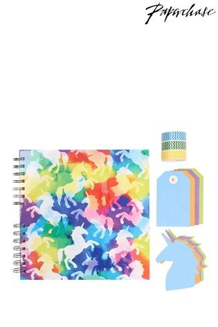 Buy Paperchase Rainbow Unicorn Scrapbook Kit from the Next UK online shop