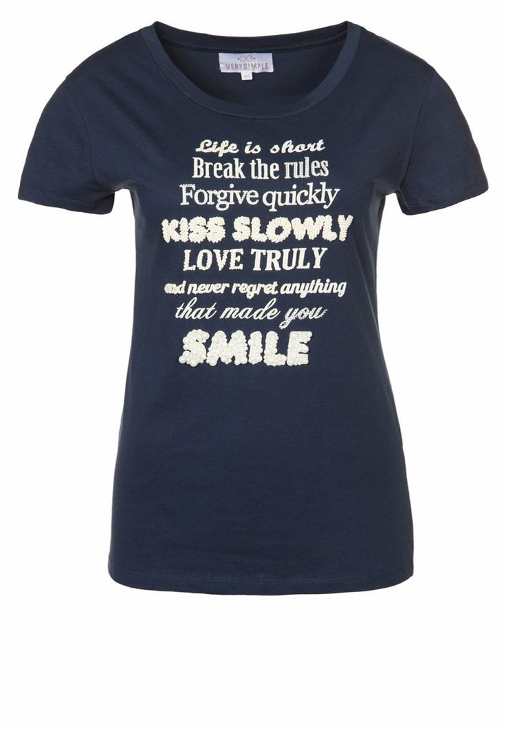 T-shirt smile | Verysimple.it NOW 30% OFF #fashion is #verysimple www.verysimple.it