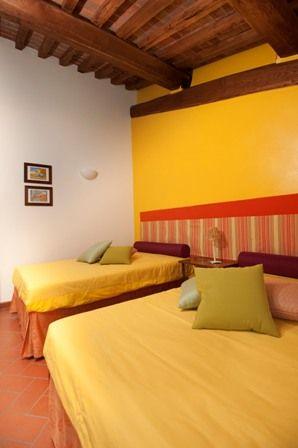 Sunflower bedroom at Antico Granaione b&b https://www.youtube.com/watch?v=ZDj8MfJANjU