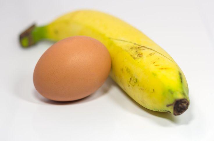 Banana and egg gluten free flapjacks