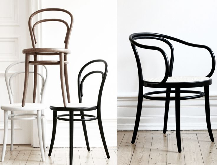 Chairs, Thonet.