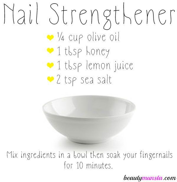 Find the easiest DIY nail strengthener recipe below for strong, healthy and shiny nails! Most of us love nail art and growing long nails but when you have weak brittle and soft nails that peel, it's a frustrating problem. You can't grow your nails without them chipping at some point. Thankfully, there's this DIY nail …