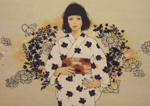 Hata Eriko 秦絵里子 aka Qin Eriko Yuugure no Ro tanchou 夕暮れのロ短調 (B minor of dusk) - 2010