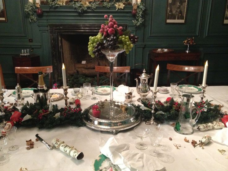 Dinner Table Nunnington Hall Victorian Dinner Party Pinterest Dinner Table And