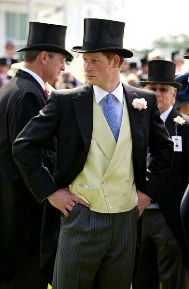 Prince Harry, who turned out to be the better looking of the two princes.  Great photo.