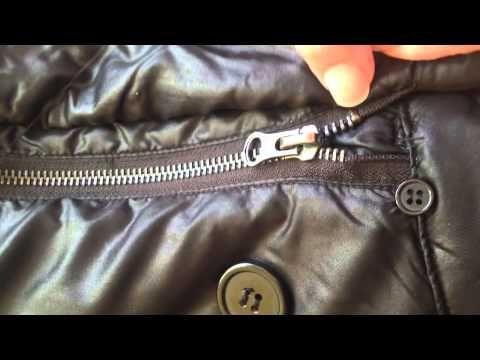 Cómo arreglar una cremallera de la forma mas fácil - YouTube