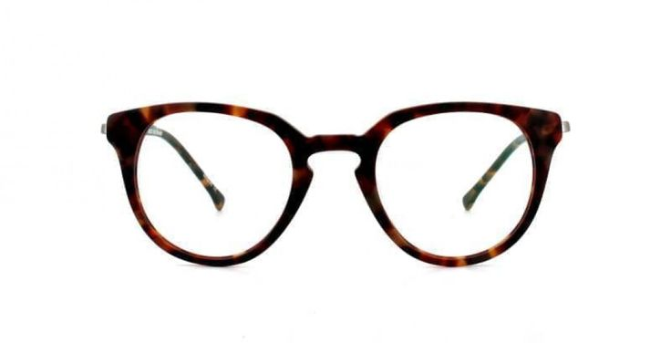 BIBLIO I A rounder look with a sharper top line. Mid havana for a classic touch.