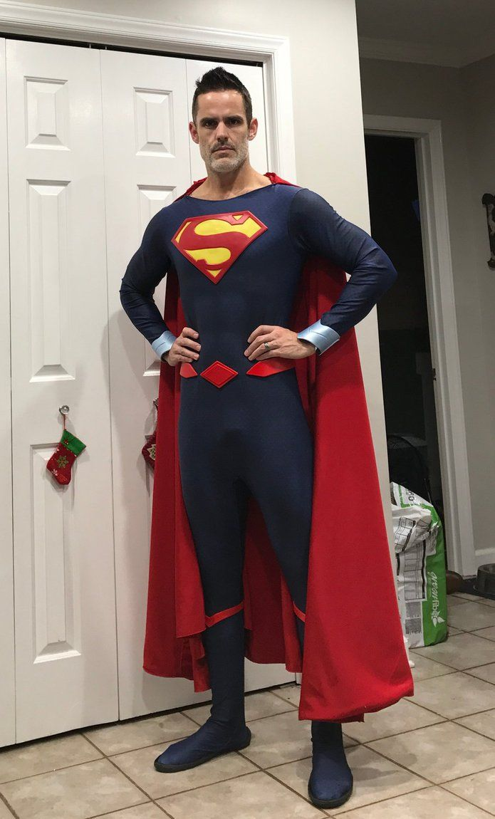 Superhero Suit Ideas: Pin On Superman Cosplay And Clothing