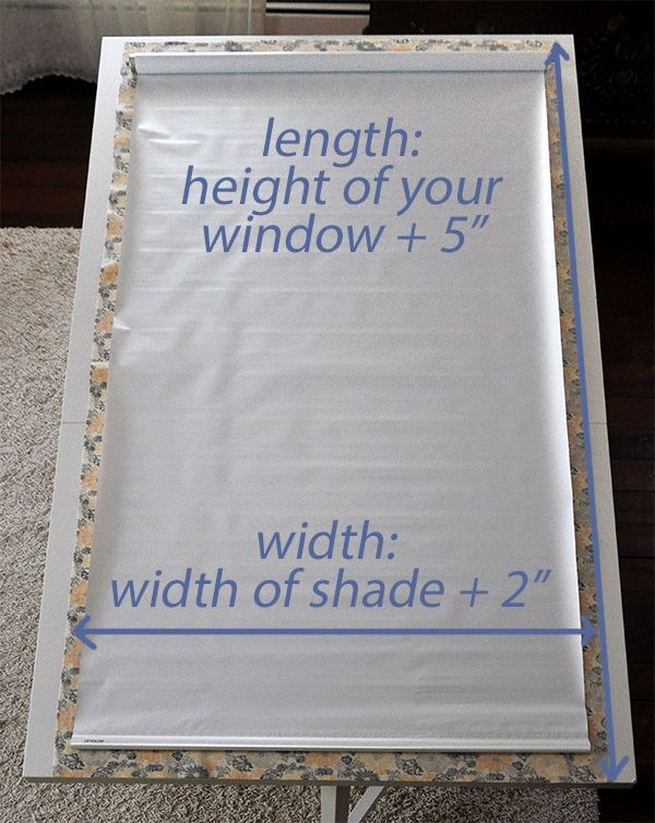 Fabric Covered Window Shade Tutorial- Jacquelynne Steves.  This is the best tutorial.