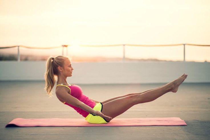 joga10 zpevnění středu těla
