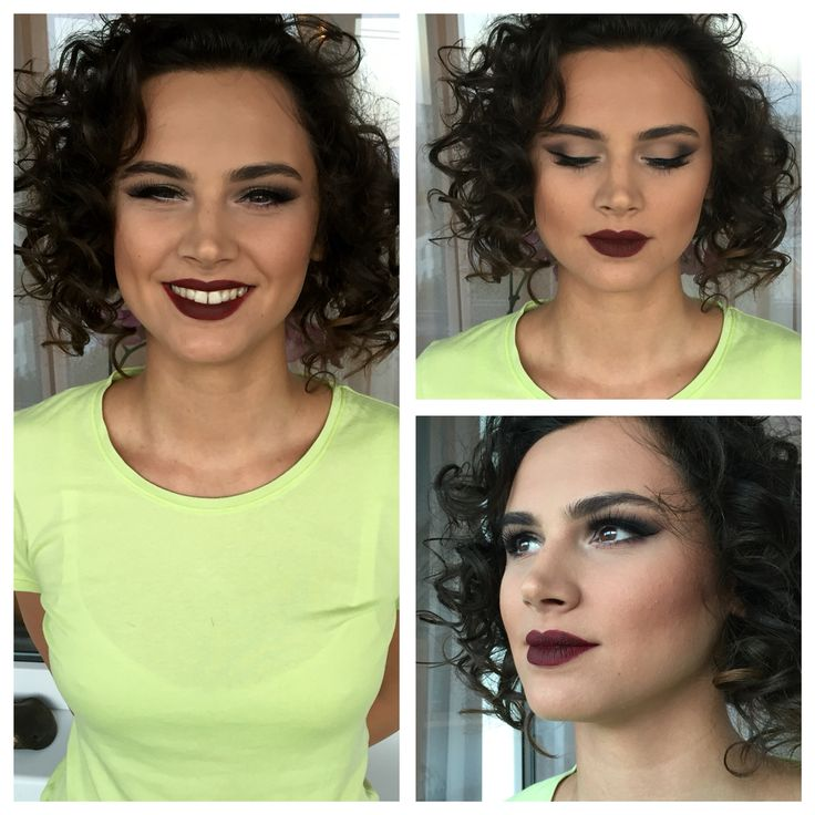 #makeup #burgundy #thoselipstho burgundy lipstick