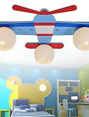 3020  Wooden Children's Cartoon Lamp