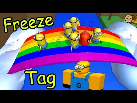 Minion Freeze Tag & Hide and Seek Extreme - Let's Play Roblox Online Games - YouTube