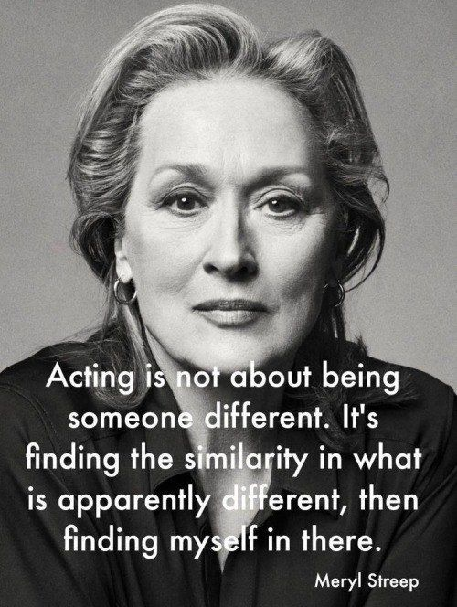 When she proved that empathy plays a huge part in great acting.