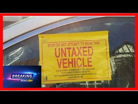 Don't chance it - 329 cars a day clamped or impounded because of tax  Around 10000 untaxed cars are being clamped or impounded in the UK every month according to a government agency. The Driver and Vehicle Licensing Agency DVLA released the figure as it launched a new...  ------------------------  Thanks For Whatching !  Don't forget like and Subcriber my channel  Subcriber: http://ift.tt/2hzjL0Q't chance it - 329 cars a day clamped or impounded because of tax