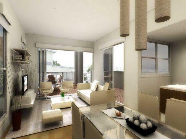 Best Ideas For The Small Apartment Designing. Kleine Wohnung DesignKleine  WohnungenWohnzimmer ...