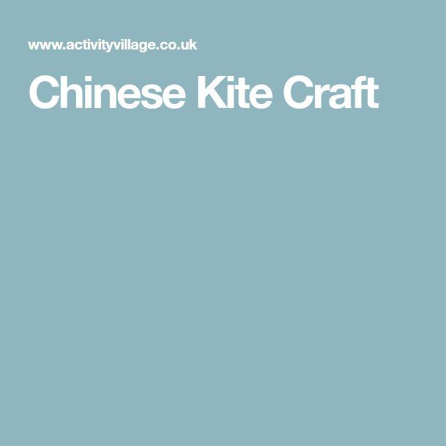 Chinese Kite Craft