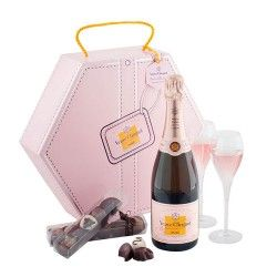 Veuve Clicquot Shakkei Rosé Couture Collection #Chocolate #Delivery #UK