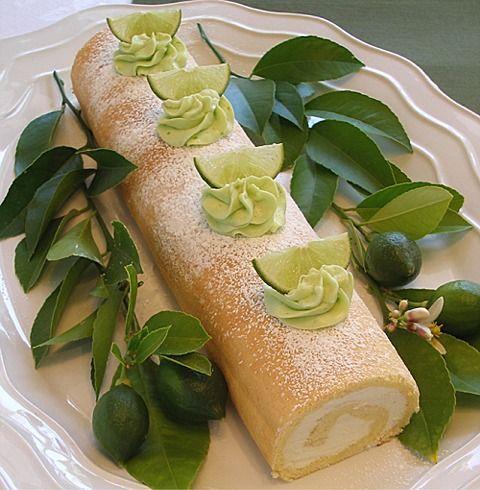 Mojito Cake Roll