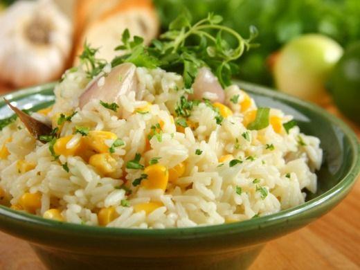 Rýže s kukuřicí