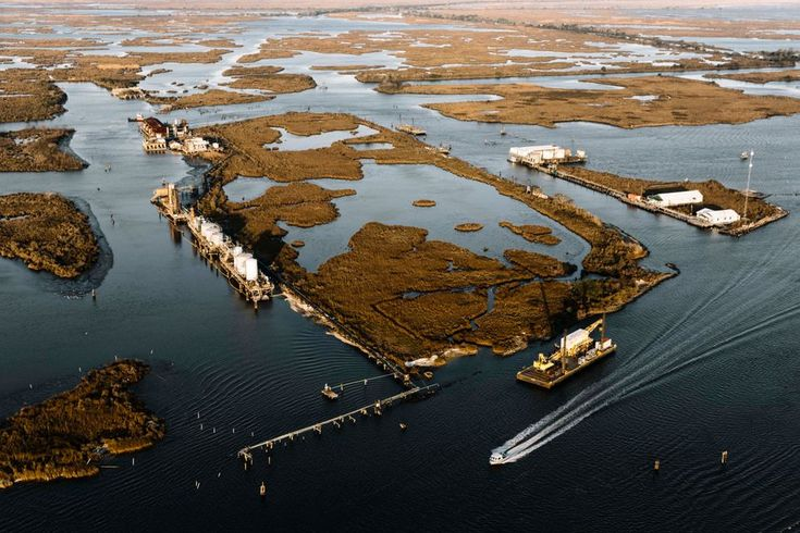For the town of Jean Lafitte, the question is less whether it will succumb to the sea than when.