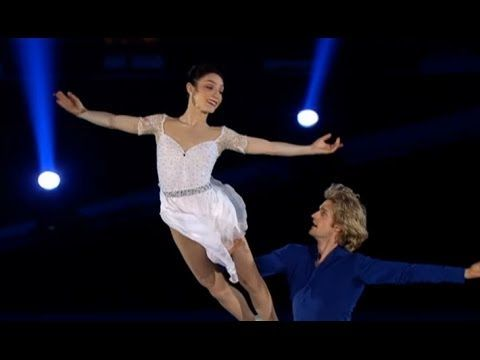▶ Meryl Davis Charlie White-The Gaul - a concert of Olympic champions 2014 in Moscow (Russian TV) - YouTube