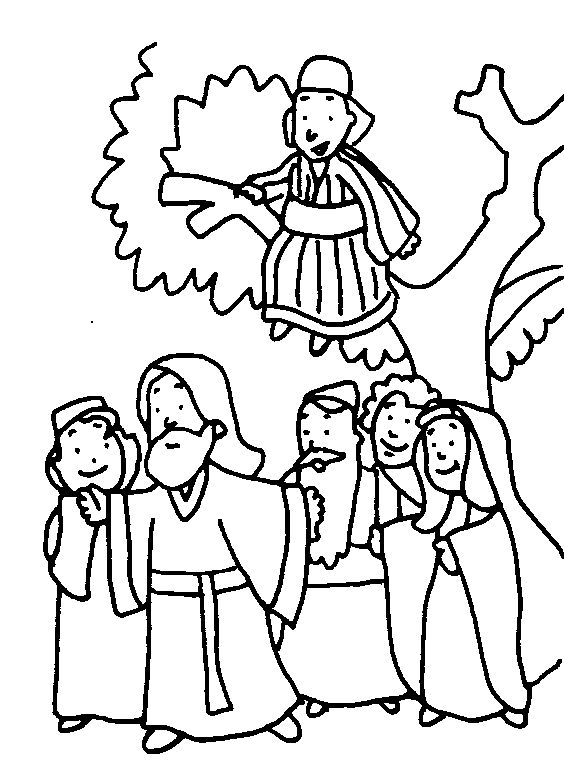 25 best Bible Kids- Zacchaeus images on Pinterest Sunday school - copy coloring pages for zacchaeus